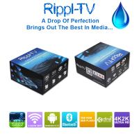 Rippl-TV Android Smart TV Box Quad Core UtilOS Special Edition XBMC 4K2K Internet Media Player Manufactures