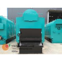 Hot Water Biomass Fired Steam Boiler / Wood Pellet Traveling Grate Stoker Boiler Manufactures