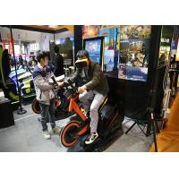 Arcade Games Machines Virtual Reality Bike With 9D VR 360 Degree 3D Glass Headset Manufactures