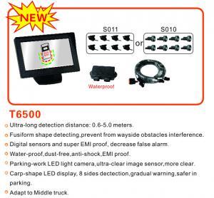 Truck Parking Sensors Ultralong detecting distance,detecting range is 0.6m-5m Manufactures