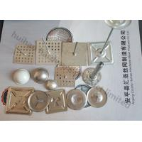 China Custom Self Adhesive Insulation Pins With Metal Self Locking Washer And Dome Cap on sale
