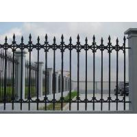 Antique Cast Iron Fence Panels / Pedestrian Safety Barrier Fence For Villa Home Manufactures
