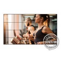 Samsung 55 Inches Digital Signage Video Wall , 3.5mm Video Wall Monitors HDMI Signal Input Manufactures