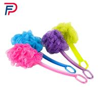 SJB1-(1+1) Factory directly beautiful body cleaning plastic bath brush with long handle Manufactures
