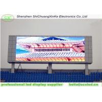 China high definition 10mm smd full color outdoor large stadium perimeter led display  for Olympic games on sale