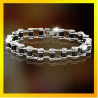 hot selling fast delivery menlike stainless steel fashion bracelet Manufactures