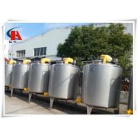 Buy cheap 400L Stainless Steel Tanks Square High Shear Emulsifying Tank In Production Line from wholesalers