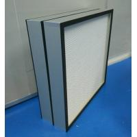Mini Pleated Clean Room HEPA Filters  CE UL FM Certification for food&beverages Manufactures