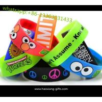 Personalized Cheap Custom Silicone Bracelet/ wristband glow in the dark Manufactures