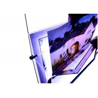 Quality A4 Size Crystal Outdoor Led Light Box Anti Ultraviolet for sale