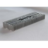 Anodized Extruded Aluminum Heatsink Oxidation Sand Blasting 300*105*45mm Manufactures