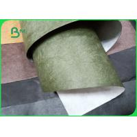 Kraft And Black 75gsm 1073D Tyvek Paper Good Air Permeability 1092MM Manufactures