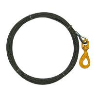 Heavy - Duty Hook Rope Winch Line Long Service Life Durable With Self Closing Latch Manufactures