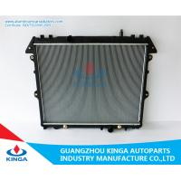 Motorcycle Parts Car Cooling Radiator Silver Racing Radiator Hilux Innova ' 04 Diesel AT Manufactures