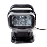 50W  4000lumens 12DV Cree LED Marine Remote Control Spotlight Offroad Truck Car Boat Search Light Manufactures