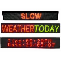 China P5 Dual Colorled Scrolling LED Sign Electronic LED Moving Message Board on sale