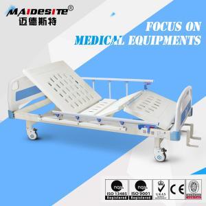 Classic Design Mechanical Hospital Bed , Hospital Adjustable Beds For Seniors Manufactures