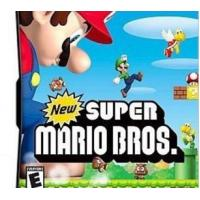 China New Version DS games for all 3DS/NDSI/NDS Game consoles with Excellent Quality: New Super Mario Bros on sale