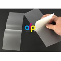 Card Membrane Clear Laminating Pouches Film Different Thickness Optional Manufactures