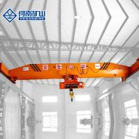 China Frequency Inverter Single Beam Overhead Crane , 20 Ton Warehouse Overhead Crane on sale