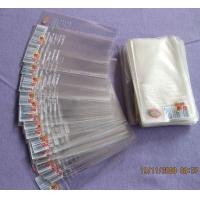 High Transparency BOPP Plastic Bags Resealable Cello Bags For Small items Manufactures