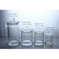 different size glass candle jars with custom lid in stock Manufactures