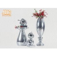 Small Mosaic Glass Fiberglass Apple With Square Base Sculpture Decoration Manufactures