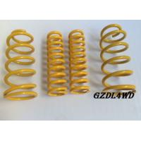 Auto 4x4 Suspension Lift Kits High Tension Coil Springs Toyota Parts Front And Rear Manufactures