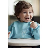 China Newborn Baby Apron Bib  Baby Kids Cartoon Pattern Eat & Play Soft Material for sale