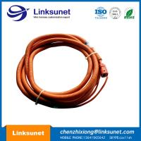 Orange Circular Connector Cable Assembly custom Hybrid Electric Vehicle Connector Manufactures
