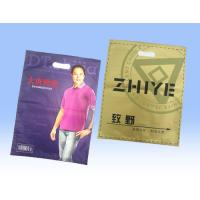 China Retail Large Sealable Plastic T Shirt Bags , Recycled Plastic Bag Packaging on sale
