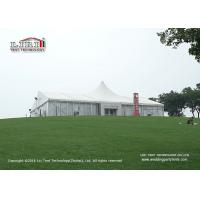 White PVC Waterproof 20x30m Luxury Tent used  for Outdoor Wedding of 500 people Manufactures