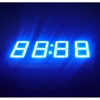 "Ultra Blue LED Clock Display 0.56""  , Led 7 Segment Display 50.4*19*8MM Manufactures"