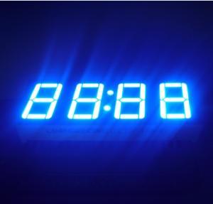 "Ultra Blue LED Clock Display 0.56""  , Led 7 Segment Display 50.4*19*8MM Manufactures"