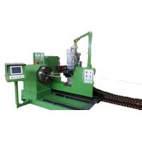 Green Flame CNC Pipe Profile Cutting Machine For Steel Structure Or Pressure Vessel Manufactures