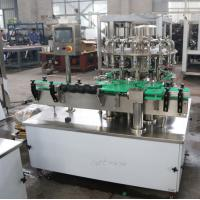 High Precision Filling Capping Machine , Automatic Bottle Capping Machine 7.5 Kw Manufactures