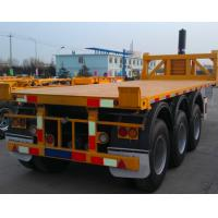 20ft Flatbed Container Tipper Trailer 30 Tons Large Capacity High Tensile Steel Manufactures