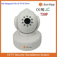 SunView 720P 1.0mp wifi wireless two ways audio P2P PT easy set home alarm CCTV IP camera Manufactures
