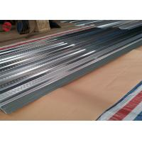 Quality 0.13mm Light Corrugated Galvanized Steel , CGCC Pre Coated Galvanized Sheets For Supermarket for sale
