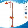 SH712BSR-Safety shower & eyewash station,SS304 emergency shower and eye wash for sale