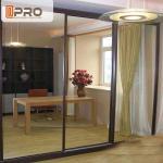 Australia Anti Noise Aluminium Sliding Glass Doors System Customized Size Manufactures