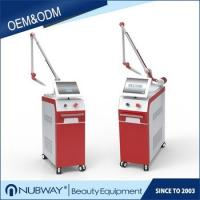best selling Korea pigmentation removal white & red color metal case Nd Yag Laser Tattoo Removal Machine Manufactures