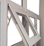65 Series Aluminum High Heat Insulation Awning Windows (AW-031) Manufactures