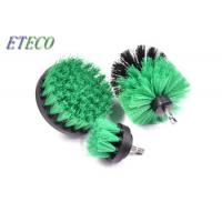 Green Carpet Cleaning Drill Scrub Brush 3pcs Ultimate Compatibility Manufactures