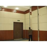 China Folding Movable Sliding Partition Walls / Hanging Room Dividers Auditorium Ceiling Materials on sale
