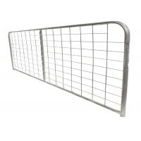 Quality Easy Install Steel Farm Gates With Hinge Power Coated Surface I Type for sale