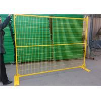 6ft X 10ft Outdoor Construction Temporary Fence Mesh Of Low-Carbon Iron Wire Manufactures