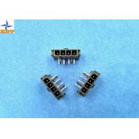 Quality 3.00mm Pitch Wire To Wire Connector Right Angle Header with Snap-in PCB Lock for sale
