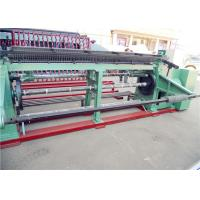 Double  Twisted Gabion Mesh Machine , Hexagonal Wire Mesh Machine For Feed Fence Manufactures