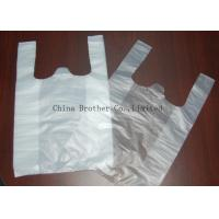 Environmental Protection Custom Printed Plastic Shopping Bags With Handles Manufactures